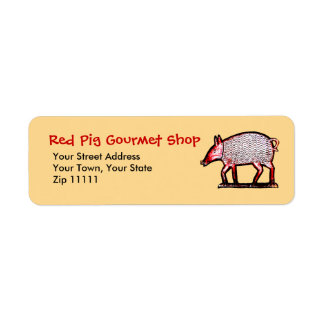 Red Pig Butcher's Shop, Grill, Gourmet Label