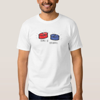 red pill blue pill shirt