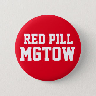 Red Pill MGTOW Pinback Button