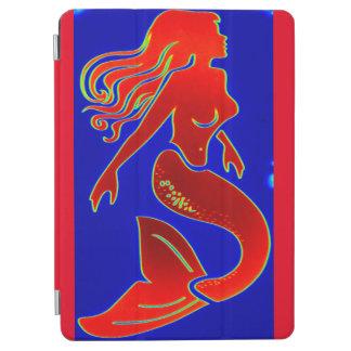 red pin-up mermaid iPad air cover