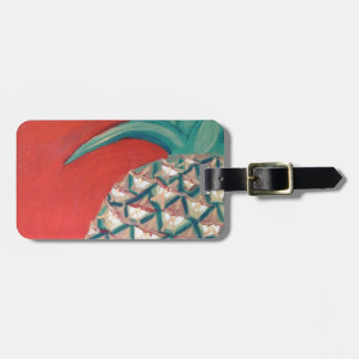 Red Pineapple Luggage Tag