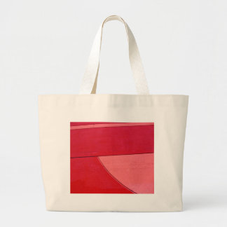 Red & Pink Abstract on a Shopping Bag
