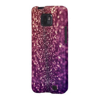 Red Pink and Purple Sparkle Glitter Galaxy Case-Ma Samsung Galaxy Cover