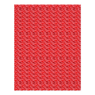 RED Pink Blank Textures Shades Template DIY GIFTS Letterhead