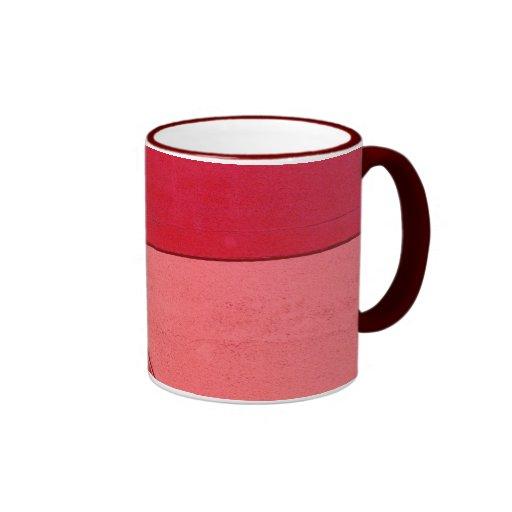 Red & Pink Coffee Mug
