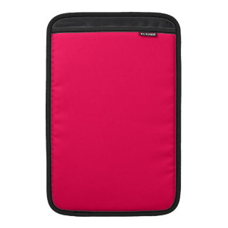 Red Pink Color Only Design Products Sleeve For MacBook Air
