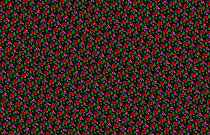 Black and pink flowers fabric zazzle redpink flowersgreen leavesfolk floralblack fabric mightylinksfo