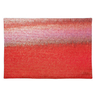 Red Pink Golden Laptop Sleeve 15 inch Cloth Placemat