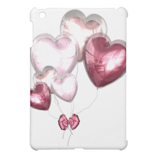 Red Pink Heart Balloons Valentines Day  iPad Mini Cover
