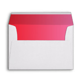 Red & Pink Ombre Envelope
