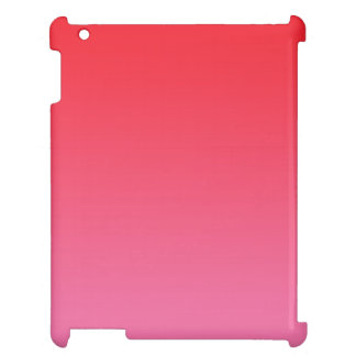 Red & Pink Ombre iPad Cover