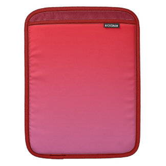 Red & Pink Ombre Sleeve For iPads