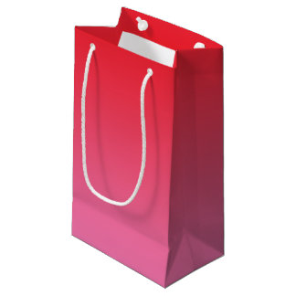 Red & Pink Ombre Small Gift Bag