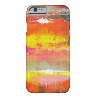 Red Pink Yellow Abstract No. 155  iPad Case