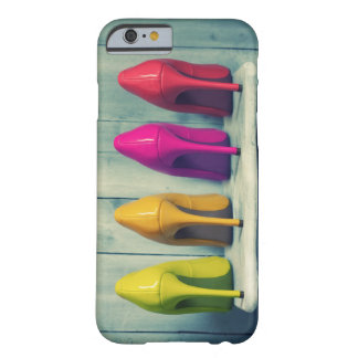 Red Pink Yellow Green Heels Photo iPhone 6 Case