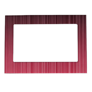 Red Pinstriped Magnetic Frame