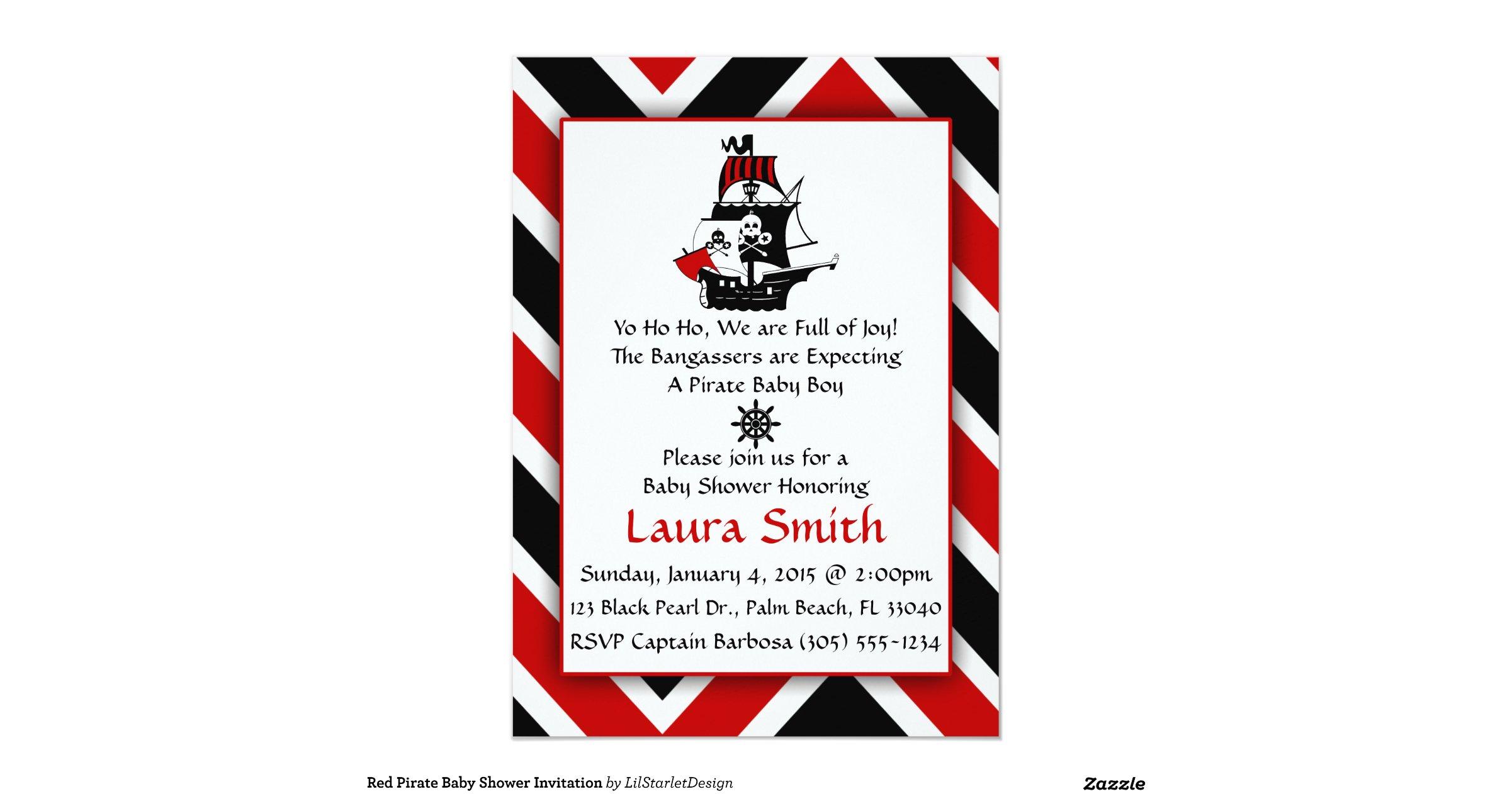 red pirate baby shower invitation r2664c4ed07a1480ea33f170cd16916eb