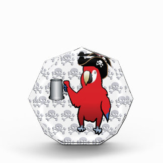 Red Pirate Parrot with a tankard Awards