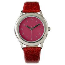 Red Pirate Wrist Watch