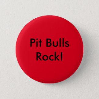 Red Pit Bull Pin