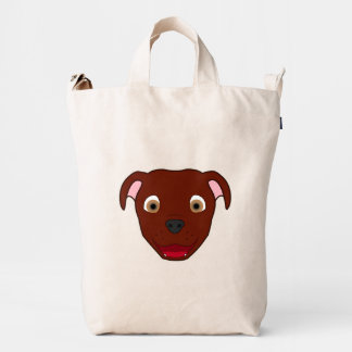 Red Pitbull Duck Bag