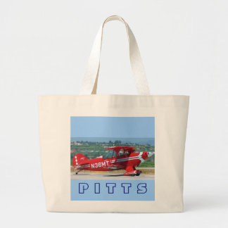 Red Pitts, P I T T S Jumbo Tote Bag