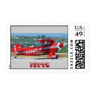 Red Pitts, PITTS Stamp