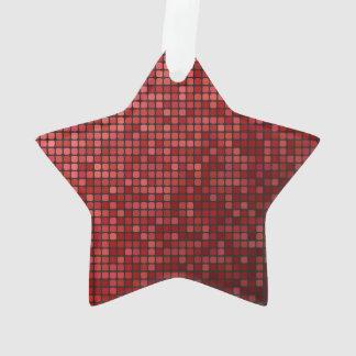 Red pixel mosaic