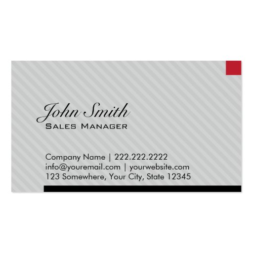 Red pixel sales manager business card zazzle for Business card manager
