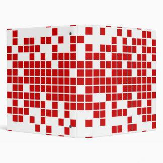 Red Pixels Binder
