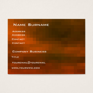red pixels Business Card