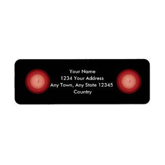 Red Plafond Label