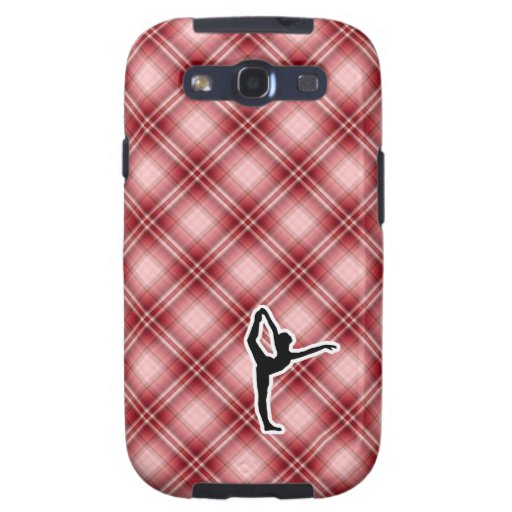 Red Plaid Ballet Galaxy SIII Covers