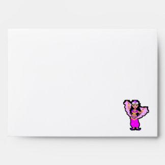 Red Plaid Belly Dancer Envelope