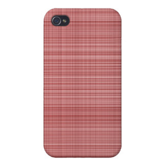 Red Plaid Case iPhone 4/4S Cover
