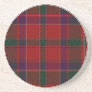 Red Plaid Coaster