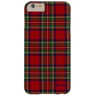 Red Plaid Design iPhone 6 Plus Case