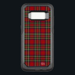 "Red Plaid Design Otter Box OtterBox Commuter Samsung Galaxy S8 Case<br><div class=""desc"">Red Plaid Design Otter Box phone case with customizable personalization.</div>"