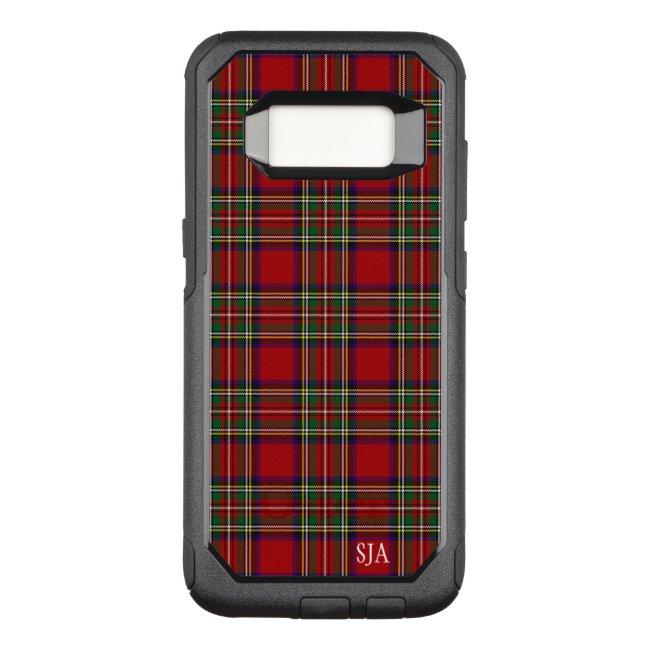 Red Plaid Design Otter Box