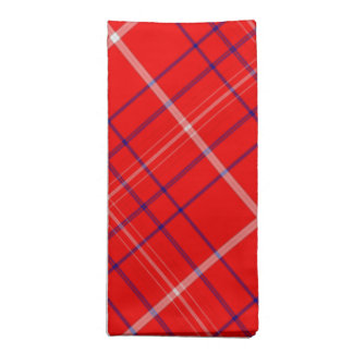 Red Plaid Dinner American MoJo Napkins