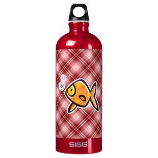 Red Plaid Goldfish SIGG Traveler 1.0L Water Bottle