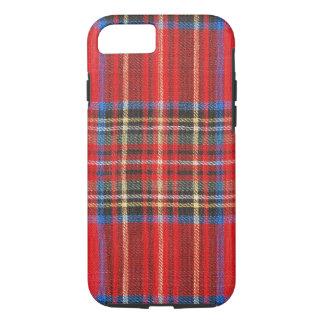 Red Plaid iPhone 7 Case