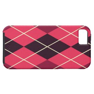 Red Plaid iPhone SE/5/5s Case
