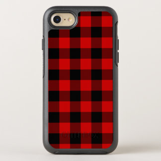 Red Plaid OtterBox Symmetry iPhone 7 Case