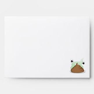 Red Plaid Poop Envelopes