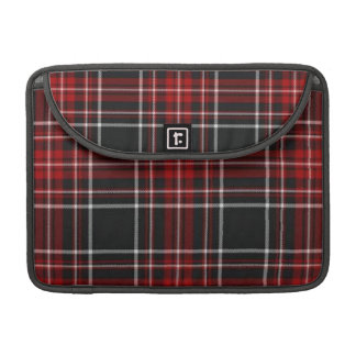"""Red Plaid Rickshaw Flap Sleeve for 13"""" & 15"""" MacBo Sleeves For MacBook Pro"""