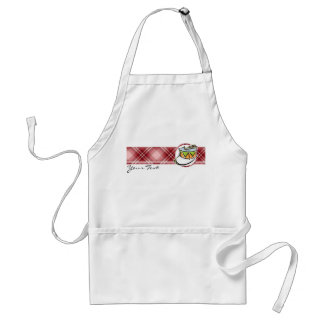 Red Plaid Snare Drum Aprons