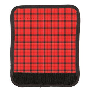 Red Plaid Tartan Pattern Handle Wrap