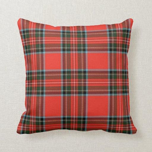 Red Plaid Throw Pillows : Red Plaid Throw Pillow Zazzle