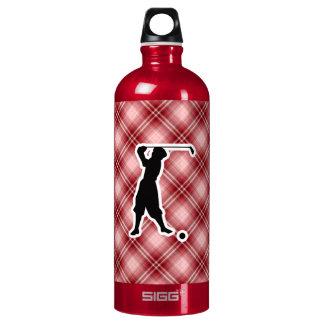 Red Plaid Vintage Golfer SIGG Traveler 1.0L Water Bottle